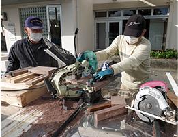 積み木作り