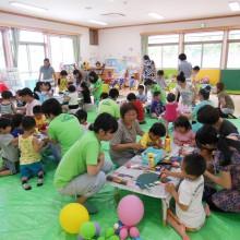 子育て支援センター風景