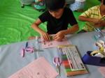 7月28日燕沢児童館「万華鏡をつくろう!」 020