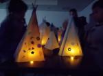 幸町児童館、行燈作り 023