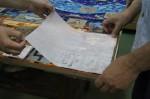 紙貼り作業2